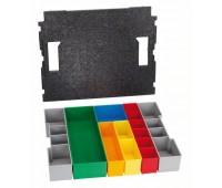 Bosch Контейнеры для хранения мелких деталей Комплект L-BOXX 102 inset box, 13шт. (1600A001RY)