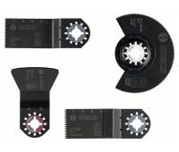 Bosch Набор для напольно-монтажных работ из 4 шт. ACZ 85 EB (1x), AIZ 32 BB (1x), AIZ 32 EC (1x), ATZ 52 SC (1x) (2608661696)