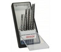 Bosch Набор из 6 пильных полотен Robust Line Progressor, с T-образным хвостовиком T 123 X (2x), T 234 X (2x), T 345 XF (2x) (2607010531)