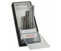 Bosch Набор из 6 пильных полотен Robust Line Progressor, с U-образным хвостовиком U 123 X (2x), U 234 X (2x), U 345 XF (2x) (2607010532)