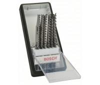 Bosch Набор из 6 пильных полотен Robust Line, Wood Expert, с T-образным хвостовиком T 308 B, T 308 BF, T 301 BCP (2x), T 234 X (2x) (2607010572)