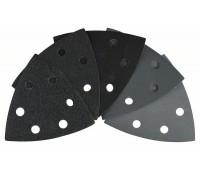 Bosch Набор шлифлистов, 10 шт. 93 мм, 120, 240, 400, 600, 1200 (2608607543)