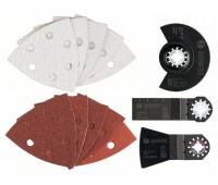 Bosch Универсальный набор из 23 шт. ACZ 85 EB (1x), AIZ 28 EB (1x), ATZ 52 SFC (1x), шлифлист (20 шт.) (2608661694)