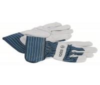 Bosch Защитные перчатки из воловьего спилка GL SL 10 EN 388 (2607990105)