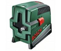 Лазер с перекрёстными лучами с функцией отвеса Bosch PCL 20