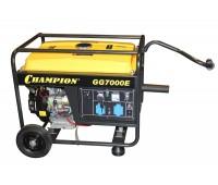 Бензиновый генератор Champion GG7000E + ATS