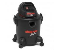 Пылесос для сухой и влажной уборки Shop-Vac Super 20-S с розеткой для электроинструмента