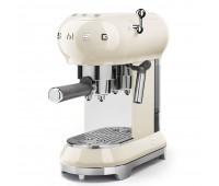 Кофемашина-эспрессо Smeg ECF01CREU (кремовый)